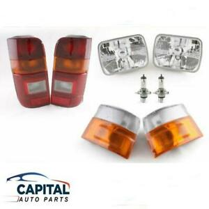 Complete 6 pieces Lights set (with cables & bulbs) Toyota Hiace RZH/LH 1989-2005