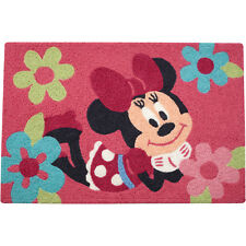 "Disney Minnie Mouse Rug 20"" x 30""  Garden of Flowers - Descontinued Item"