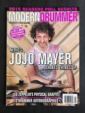 Modern Drummer Magazine May 2015 Jo Jo Mayer