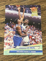 Vintage 1993 Fleer Ultra #328 SHAQUILLE O'NEAL RC Magic LAL Heat LSU C HOF NM/Mt