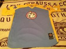 BLUE YELLOW 1920-1960 NEGRO BASEBALL LEAGUE XXXL PULL OVER JERSEY SZ XXL