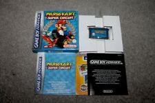 Nintendo Gameboy Advance - Mario Kart Super Circuit - Boxed - GBA - NR MINT