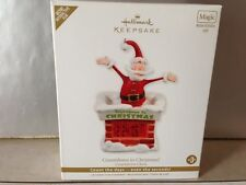 2011 Countdown to Christmas Hallmark ornament