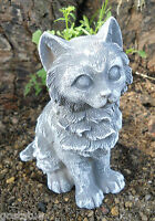 "Latex small cat / kitten mold  plaster concrete cement mould 4.5""H"
