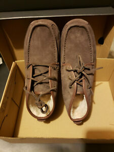 UGG LYLE BROWN CHUKKA BOOTS, MEN US 10 ~NEW