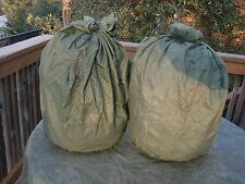 (Lot of 2) US Army/USMC Waterproof Bags Very Good condition USGI