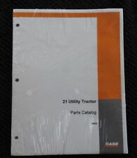 1961 CASE 21 LOADER ONLY 210B 430 440 TRACTOR PARTS MANUAL CATALOG MINT SEALED