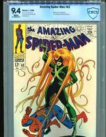 Amazing Spider-Man 62 CBCS 9.4 Classic Romita Medusa cover Marvel cgc it 1968