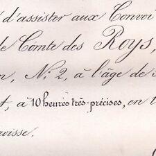 Amable Claude Des Roys 2 rue Jean Goujon Paris 1870