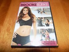 TRANSFORM YOUR BODY WITH BROOKE BURKE STRENGTHEN & CONDITION 3 Workouts DVD NEW