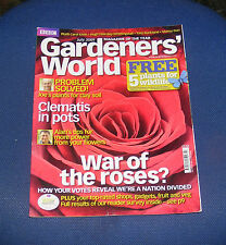 GARDENERS' WORLD JULY 2009 - WAR OF THE ROSES?/CLEMATIS IN POTS