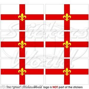 CITY OF LINCOLN Flagge ENGLAND Fahne UK Handy Mini-Aufkleber Sticker 40mm x6