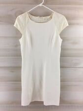 Erin Fetherston NWT ivory white lace cap sleeve casual party mini dress 8 M