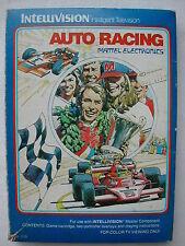 * INTELLIVISION COMPLET AUTO RACING N° 1113 DE 1980
