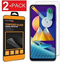 2-Pack HD Clear Tempered Glass Screen Protector For Samsung Galaxy Note 10 Lite