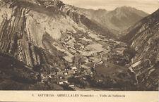 Tarjeta Postal. 9. Asturias. Arbellales (Somiedo). Valle de Saliencia.