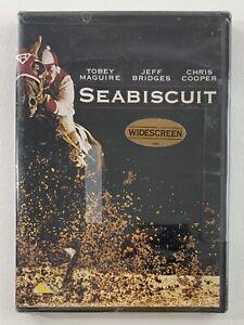 Seabiscuit (DVD) Tobey Maguire, Jeff Bridges, Elizabeth Banks BRAND NEW SEALED