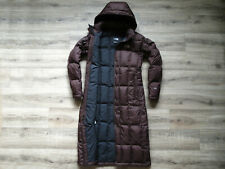The North Face Metropolis Long Down Parka Women's Jacket S RRP£300 Coat Brown