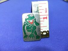 vtg badge muppet show kermit the frog 1970s cult tv show puppet television