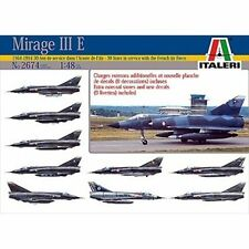 Italeri 2674 Mirage III E Armee De L'Air 1/48 scale plastic model kit