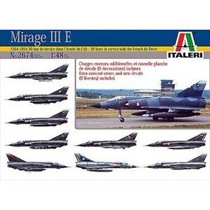 Italeri 2674 Mirage III E Armee De LAir 1/48 scale plastic aircraft model kit