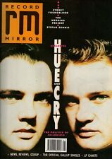 Hue & Cry on Magazine Cover 14 October 1989    The Wedding Present