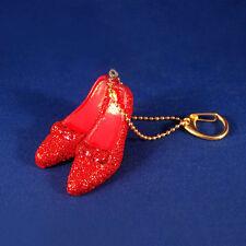 KURT S. ADLER WIZARD OF OZ RUBY RED SLIPPER GLITTERED CLIP-ON CHRISTMAS ORNAMENT