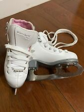 New listing Riedell Figure Skates for Toddler Girl, with Steel Luna Blade, Size 10 Youth