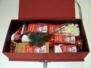 """Geschenkkorb Präsentkorb """"Der Schneemann"""" Teepräsent Kundenpräsent Sets ♥"""