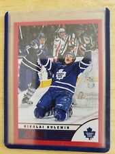 2013-14 Panini Score RED PARALLEL Nikolai Kulemin Toronto Maple Leafs Card #483