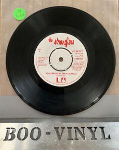 "Stranglers - Something Better Change / Straighten Out. used 7"" vinyl record Ex"