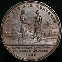 1807 | Sierra Leone (Token Coinage) Penny | Copper | Coins | KM Coins