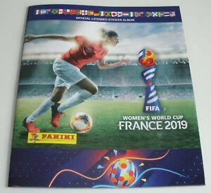 Panini Frauen WM 2019 France - Leeralbum Sammelalbum Neu & OVP