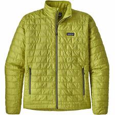 Patagonia Mens NANO PUFF Jacket Folios Green L (Measurements In Listing) RP $230
