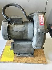 EG&G Rotron Vortex blower 1.5 HP Regenerative 460 V 1 1/2 NPT