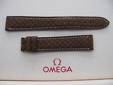 NOS Vintage Omega 16mm Brown Snake Skin Strap - VERY RARE