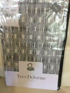 Yves Delorme Fibre Boudoir Sham Fusain  NWT! 12x17