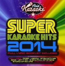 VARIOUS ARTISTS - SUPER KARAOKE HITS 2014 USED - VERY GOOD CD