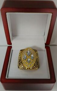 Joe Montana - 1989 San Francisco 49ers Super Bowl Custom Ring With Wooden Box