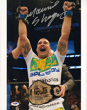 MAURICIO SHOGUN RUA SIGNED AUTO'D 11X14 PHOTO PSA/DNA COA AC29461 UFC PRIDE FC