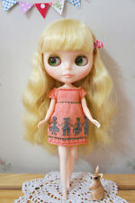 Blythe Doll Pink Dress Clothing - Dolls Pattern