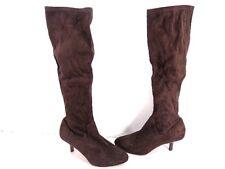 Women's  Donald J Pliner Yazi Suede Fashion Boots - Espresso - Size 6 M