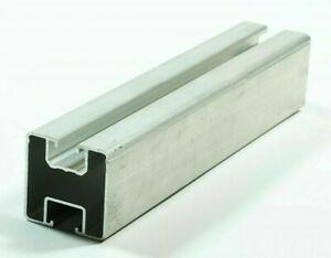 Montageschiene 40x40 L, verschiedene Schnittlängen Aluminium PV für Nutenstein