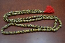 108 PCS TIBETAN BUDDHIST BUFFALO SKULL BONE MALA PRAYER BEADS 8MM #T-2262
