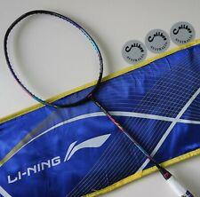 Li-Ning Windstorm 72 Badminton Racquet, Black Colour, 72 g, Choice of String
