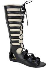 Bar III Women's Violet Gladiator Sandals Black Size 6 M