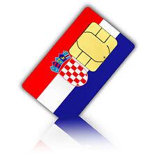 SIM Karte für Kroatien mit 1GB mobiles Internet + 200 Min Standard/Micro