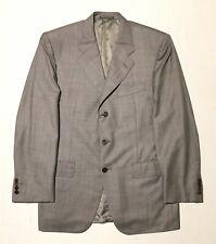 Corneliani Super 140'S Saks Fifth Avenue Gray Men Blazer Coat Sz 50R (US 40)
