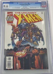 Marvel Uncanny X-Men #383 Adam Kubert Cover Chris Claremont Story CGC 9.6 MCU
