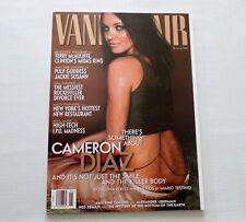 Cameron Diaz Vanity Fair Magazine January 2000
